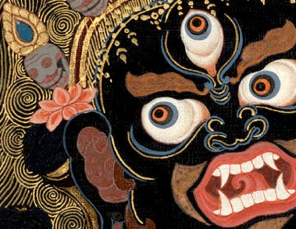 Protettore del Dharma, corrisponde a Shiva nell'Induismo